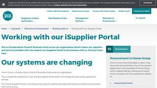 Home Group Portal