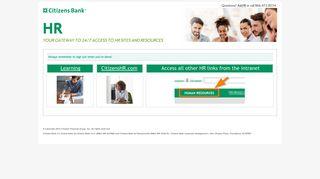Hr Express Login Citizens Bank