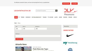 Leichtathletik Portal