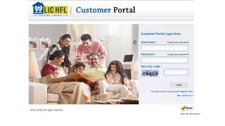 Lic Housing Finance Portal