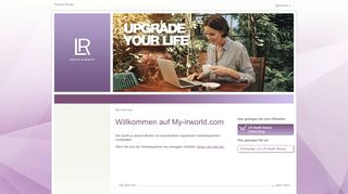 Lr World Partner Portal