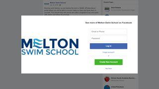 Melton Swim School Portal