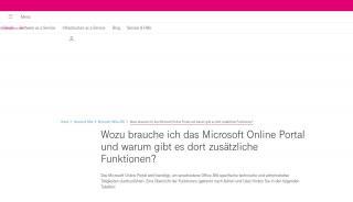 Microsoft Online Portal Mop