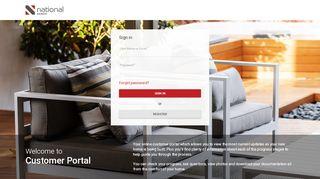 National Homes Portal
