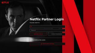 Netflix Backlot Portal