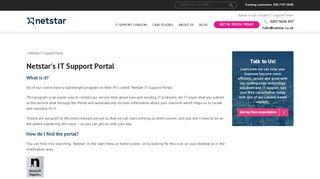 Netstar Portal