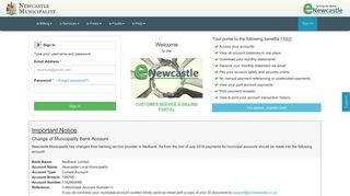 Newcastle Municipality Portal