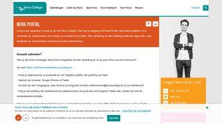Nova College Portal