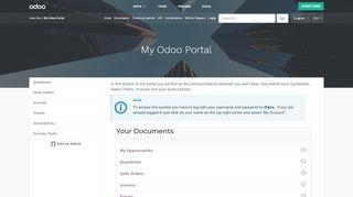 Odoo Portal