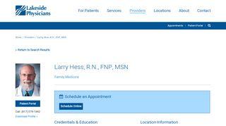 Patient Portal Hess