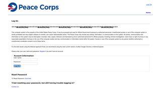 Peace Corps Portal