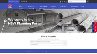 Planning Portal Website
