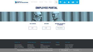 Port Of Felixstowe Employee Portal