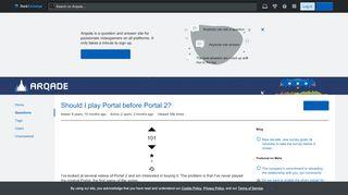 Portal 1 Or Portal 2