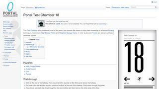 Portal Chamber 18