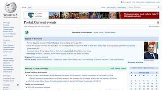 Portal Current Affairs