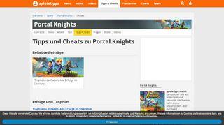 Portal Knights Komplettlösung