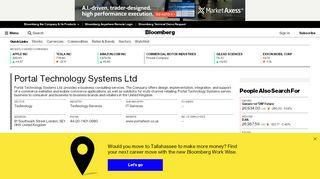 Portal Technology Systems