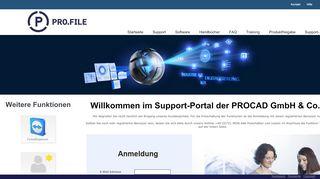 Procad Support Portal