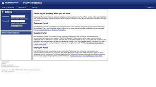 P&wc Customer Portal