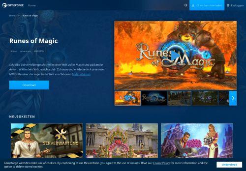 Runes Of Magic Support Portal