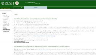 Rush Research Portal