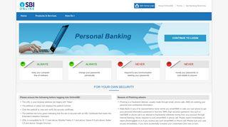 Sbi Online Banking Portal