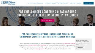 Security Watchdog Portal