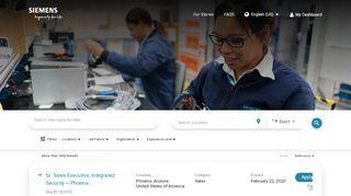 Siemens Career Portal