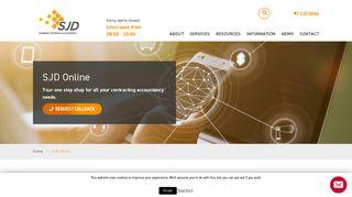 Sjd Online Portal