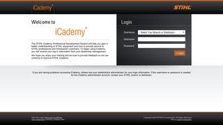 Stihl Training Portal