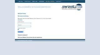 Sw Zoll Portal
