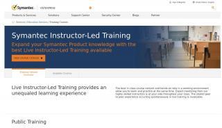 Symantec Training Portal