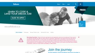 Telkom Career Portal