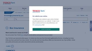 Tesco Portal Doesn't Work