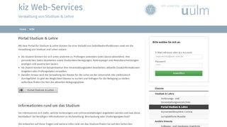 Uni Ulm Portal