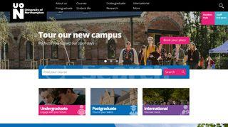 University Of Northampton Portal