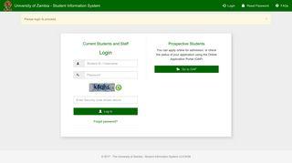 University Of Zambia Student Portal