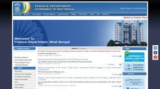 Wb Finance Portal