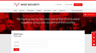 Wise Security Portal