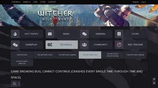 Witcher 3 Portal Crash