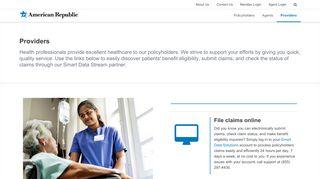 American Republic Provider Portal