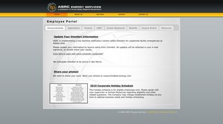 Asrc Energy Services Employee Portal