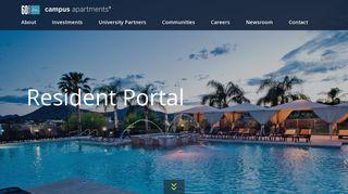 Campus Crossings Resident Portal