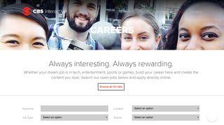 Cbs Interactive Careers Portal