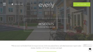 Everly Resident Portal