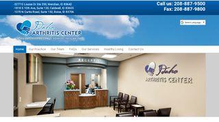 Idaho Arthritis Patient Portal