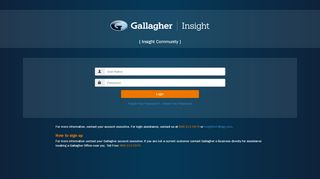 Insight Community Portal