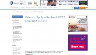 Medic Portal Ukcat Universities