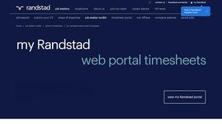 Randstad Timesheet Portal